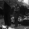 Čestná stráž před sochou sv. Václava, kolem 25. ledna 1969