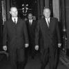 Dubček, Černík a Kádár, 13.6.1968