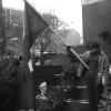 Čestná stráž u sochy sv. Václava, kolem 25. ledna 1969